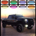 180w 32 Inch Straight Led Bar with RGB halo Flood Spot Combo Beam for Off-Road SUV UTE ATV Golf 4WD Truck Boat
