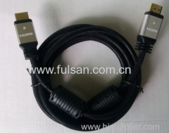 High speed hdmi cable to tv support 1080p 19 pin male to male