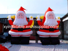 Hot Selling Inflatable Santa Claus For Christmas Decoration