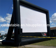 Outdoor Inflatable Projection Screen For Sale