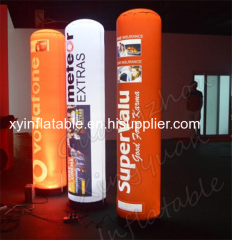 Factory Outlet Lighting Inflatable Tube For Advertising