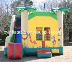 Hot Sale Jungle Inflatable Bouncy Combo