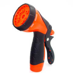 Plastic 10-Pattern Garden Water Spray Gun