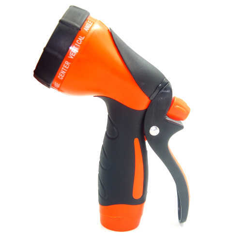 Plastic 10-Pattern Garden Water Spray Gun For Car Washing
