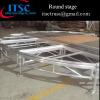 Plywood aluminum round stage