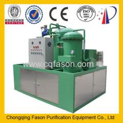 Fason Automatic backwashing used diesel oil refinery machine motor oil purifier