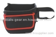 tool waist bag with open top design