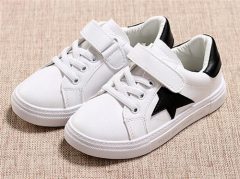 Kids star casual shoes with velcro