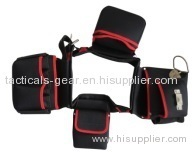 50-inch tool waist bag with 4 mian compartments