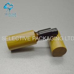 30ml cosmetische essentiële olijfolie glazen ronde fles met aluminium spuitbus top