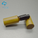 30ml cosmetic essential olive oil glass round bottle with aluminum sprayer top