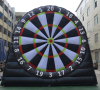 Inflatable Giant soccer darts board foot dart