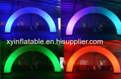 Outdoor Lighting Inflatable Arch For Wedding