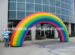 Inflatale Rainbow Arch For Advertising