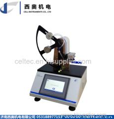 Plastic film tear tester by Elmendorf method Paper and textile tear tester