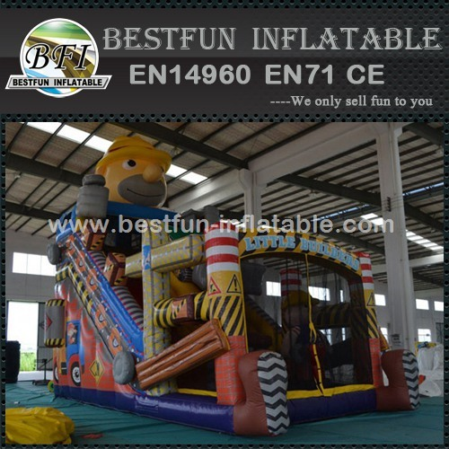 Bounce House Inflatable Little Builders