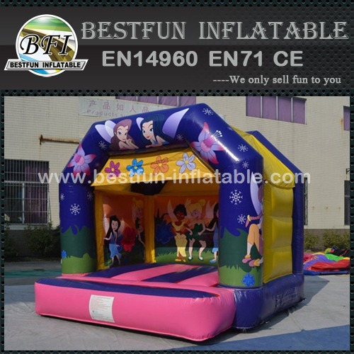 Flower Fairies Inflatable Castle Combo Bouncy Castle