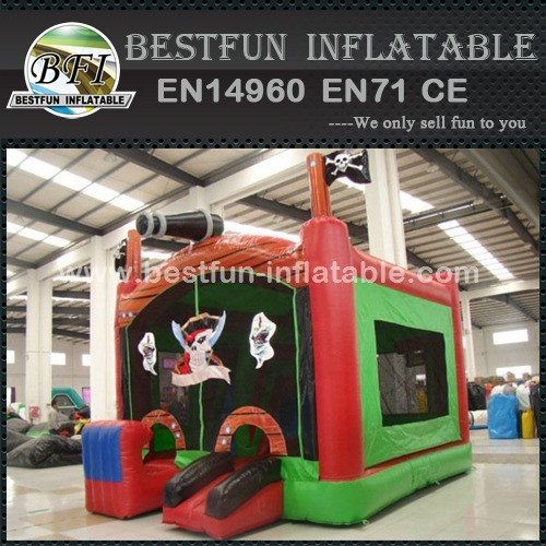Pirates blaster inflatable play park