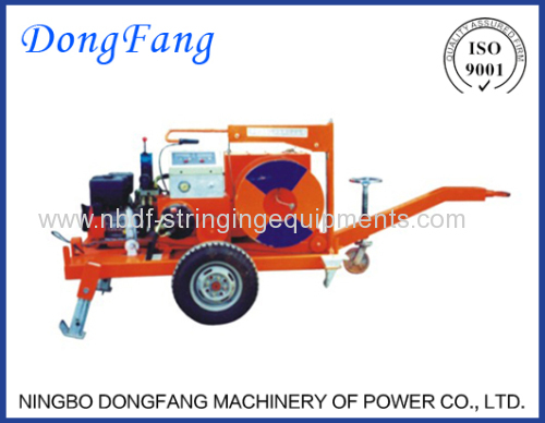 4 Ton Cable Winch Puller of Underground Cable Installation Equipment