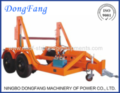 Cable Drum Trailer of Underground Cable Installation Equipment