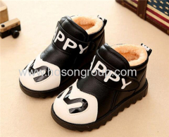 Winter waterproof velcro children boots