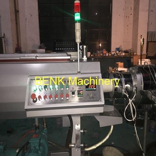PVC máquina de extrusão de tubos testado com sucesso na fábrica