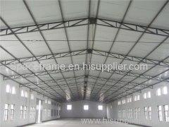 Estructura de acero estructura de armazón taller almacén