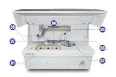 Chemiluminescence Immunoassay Analyzer Blood
