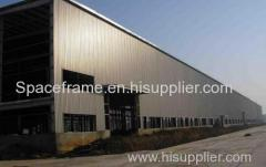 Long-span light steel structure plant prefab warehouse