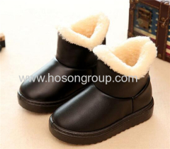 Winter waterproof clip on kids boots