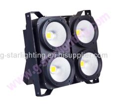New 4 eyes led audience blinder light 4*100w 2in1/4in1 COB led studio light