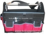 Open top tool bag with a lot of pouches