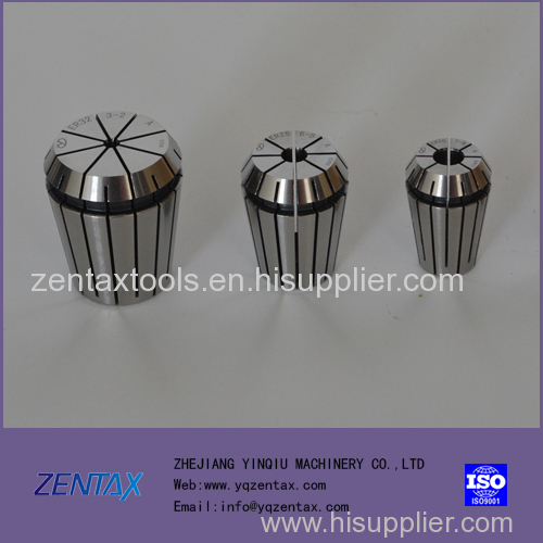 CHINA PRECISION MANUFACTURE ER COLLETS ER20 CLAMPING COLLET PRECISION LESS THAN 0.005mm