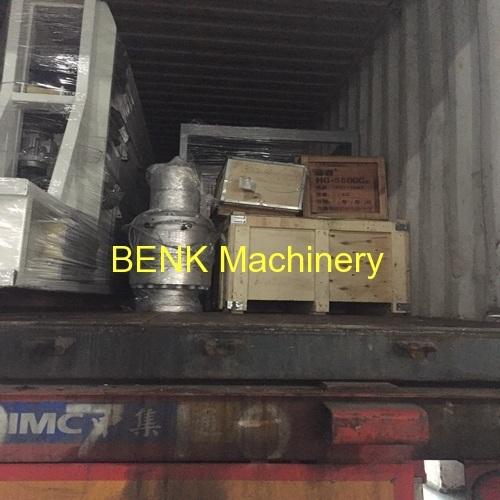 nova testado PVC tomada de tubo de entrega de máquinas agora