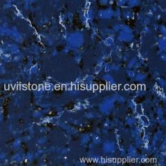 Engineered marble floor tiles quartz stone