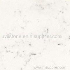 Calacatta white quartz engineered stone