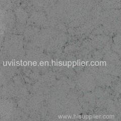 Grey color marble vein design rose quartz slab quartz tile