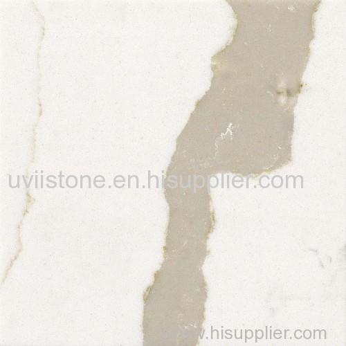 Calacatta white quartz stone quartz countertop