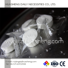 100% Rayon Cellulose Compressed Cloth