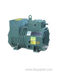 Half closed piston refrigeration compressor