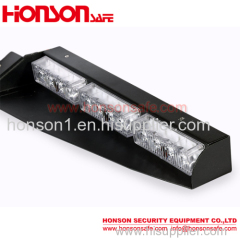 LED Windshield Dash Light Split Visor Strobe Warning Light Mount Deck Dash Lightbar