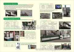 EPS decorative cornice production line
