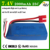 RC battery SYMA X8C X8W X8G 7.4V 2500mAh Li-polymer helicopter battery