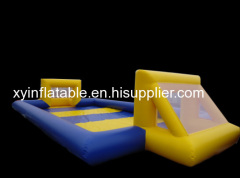 High Quality Inflatable Soap Football Filed