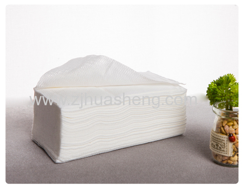 Nonwoven Cleansing facial Wipes beauty towels