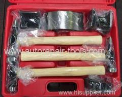 7PC AUTO CAR BODY PANEL BEATING REPAIR KIT