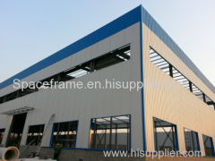 Metal buildings light steel frame structures for warehouse