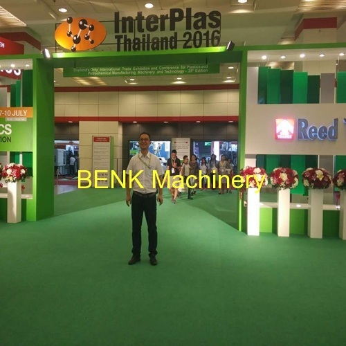 [exhibition] BENK Machinery attend interplas Thailand 2016 plastic machine exhibiton