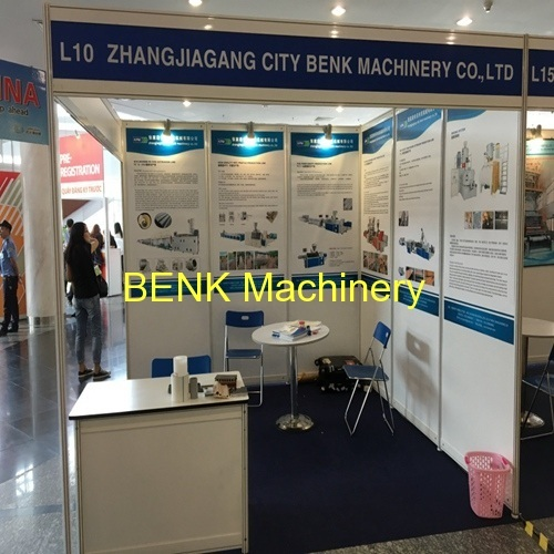 [exhibition] BENK Machinery attend vietnamplas 2016 plastic machine exhibiton