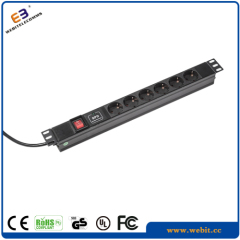 "19"" pdu socket outlet"